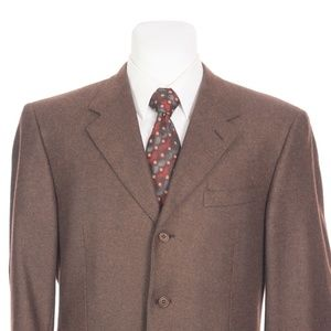 Canali Italy Full Canvas Silk Cashmere Sport Coat